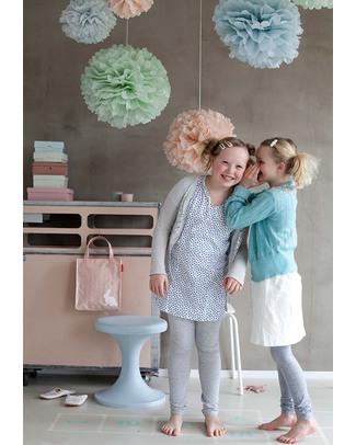 Engel Set da 3 Pom Pom 45cm x 47cm x 49cm - Colori Pastello - Carta velina Festoni
