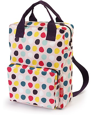 Engel Zaino Large, a Pois 26 x 11 x 35 cm - Eco-Friendly! Zaini
