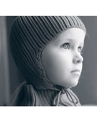 Esencia Cappellino con Paraorecchi e Coccinella, Rosa (6 mesi, 1-2 e 3-4 anni) – 100% Lana di alpaca Cappelli