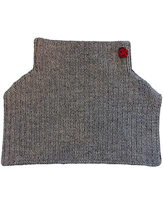 Esencia Condo, Scaldacollo con Coccinella, Grigio – 100% lana di alpaca Sciarpe e Mantelle