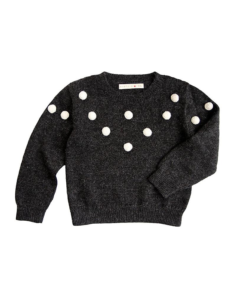 vero affare funzionario di vendita caldo nuova stagione Esencia Maglione Fiocchi di Neve, Antracite - 100% lana di ...