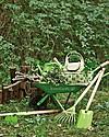 EverEarth Borsa da Giardinaggio con Strumenti -100% Cotone Bio & Faggio Certificato FSC Giochi da Giardinaggio