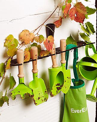 EverEarth Set Attrezzi da Giardinaggio - 3 Pezzi - Legno FSC Altissima Qualità! Giochi da Giardinaggio