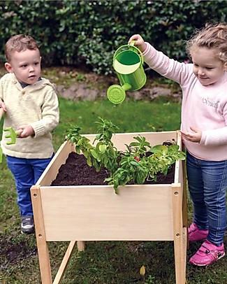 EverEarth Tavolo da Giardinaggio - Avvicinarsi alla Natura Giocando - Legno Ecologico Giochi da Giardinaggio