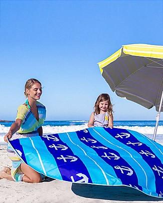 EverEarth Telo Piscina da Spiaggia ELite - Multifunzione - Borsa da Spiaggia Inclusa! Giochi Da Spiaggia