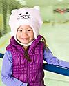 FlapJackKids Cappello Invernale Reversibile in Pile - Agnello+Gattino - Anti-UV SPF 50+ Cappelli Invernali