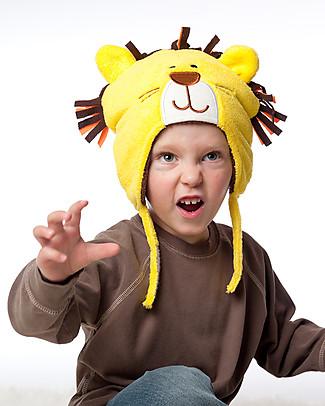 FlapJackKids Cappello Invernale Reversibile Pile SPF 50 - Leone/Scimmietta Cappelli Invernali