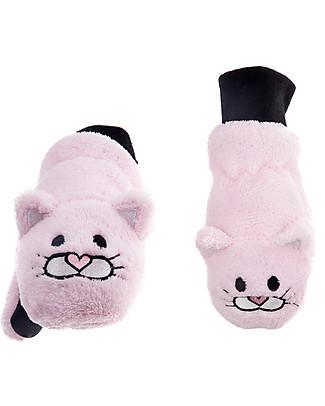 FlapJackKids Fleece Puppet Mittens Cat, 2-6 years Winter Hats