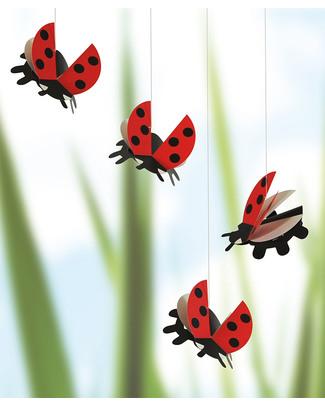 Flensted Giostrina Coccinelle - Ladybird (si muove da sola!) Giostrine