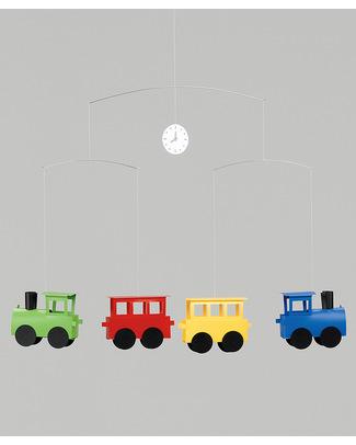 Flensted Giostrina Locomotive (si muove da sola!) Giostrine