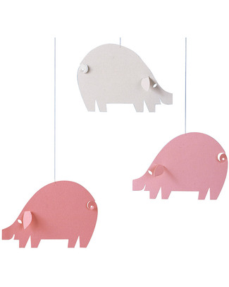 Flensted Giostrina Maialini Rosa - Pink Pigs (si muove da sola!) Giostrine