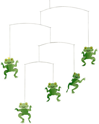 Flensted Giostrina Rane Felici - Happy Frogs (si muove da sola!) null