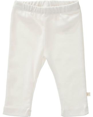 Fresk Pantaloni Babè, Bianco - Cotone bio Pantaloni Lunghi