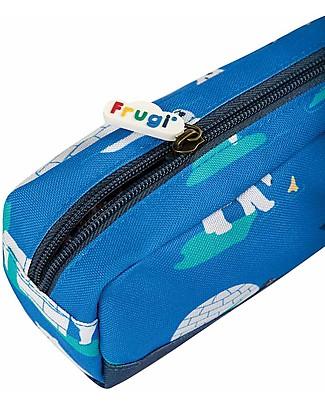 Frugi Astuccio Crafty, Polar Play -100% materiale riciclato! Astucci