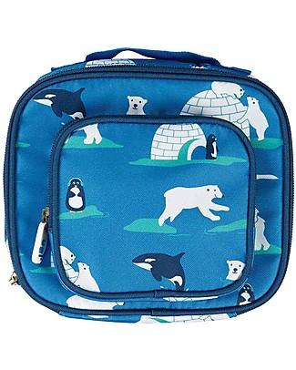 Frugi Borsa Termica Porta Pranzo, Polar Play -100% materiale riciclato! Borse Pic Nic