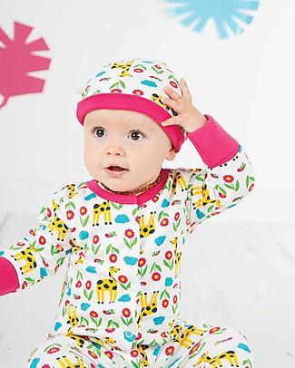 Frugi Cappellino Lovely, Giraffa - 100% cotone bio Cappelli