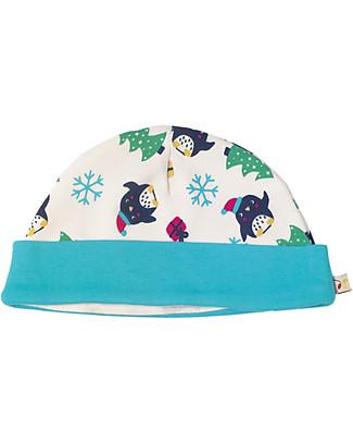 Frugi Cappellino Lovely, Pinguini - 100% Cotone Bio Cappelli