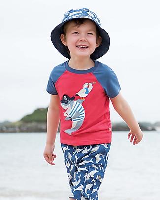 Frugi Cappellino Ross Reversibile, Scilly Shark School - Cotone Bio  Cappelli