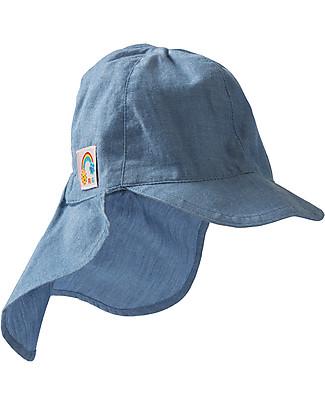 Frugi Chambray Legionnaires Hat - 100% organic cotton Sunhats