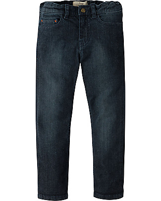 Frugi Joseph Jeans, Blu Scuro - Cotone organico Jeans Lunghi