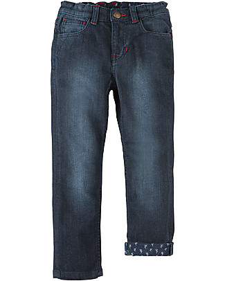 Frugi Joseph Jeans, Scuri - Cotone bio elasticizzato Jeans Lunghi
