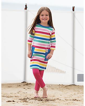 Frugi Libby Leggings, Lampone - Cotone bio elasticizzato Leggings