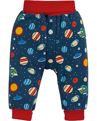 Frugi Pantaloni con Cavallo Basso, Intergalactic - cotone bio Pantaloni Lunghi