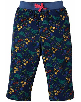 Frugi Pantaloni in Velluto Millerighe Little Cally, Forest Forager - cotone bio Pantaloni Lunghi