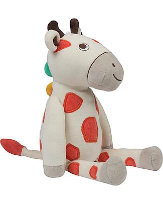 Frugi Peluche Froogli, Giraffa, Cotone bio – Ottima idea regalo! Peluche