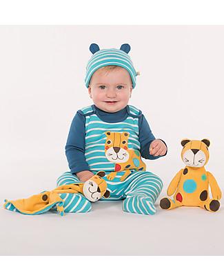 Frugi Peluche Froogli, Leopardo, Cotone bio – Ottima idea regalo! Peluche