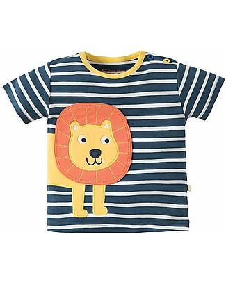 Frugi T-Shirt Felix, Navy/Leone - 100% cotone bio Top
