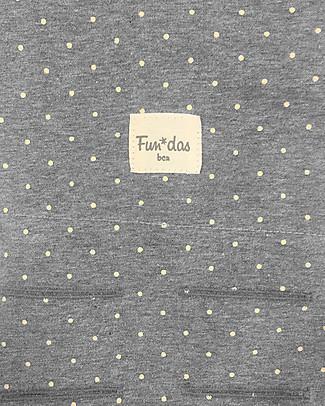 Fun*das bcn Cover per Fasciatoio 80 x 50 cm, Vintage Dot - Cotone elasticizzato Coprifasciatoi e Imbottiture