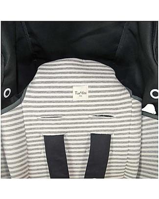 Fun*das bcn Materassino per Passeggino Babyzen Yoyo, Kodak Stripes - Cotone elasticizzato Accessori