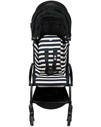 Fun*das bcn Materassino per Passeggino Babyzen Yoyo, Paris Stripes - Cotone elasticizzato Accessori