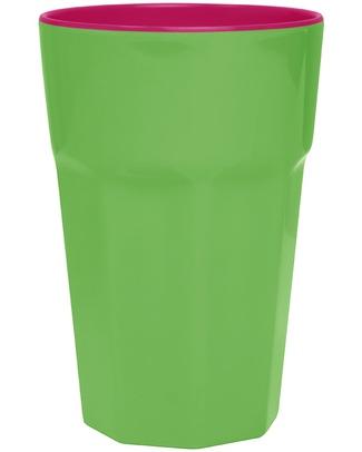 Ginger Bicchiere Rétro Grande - Verde e Rosa Tazze e Bicchieri