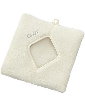 Glov Glov Confort, Panno Struccante Quadrato in Microfibra, Avorio - Strucca senza usare detergente!  Viso