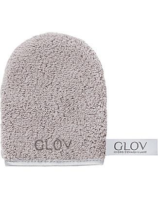 Glov Glov On The Go, Guanto Struccante in Microfibra, Grigio – Strucca senza usare detergenti!  Viso