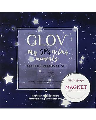 Glov Set Natalizio All In Wonder, Include Guanto struccante + Sapone Magnetico - Edizione Limitata Viso