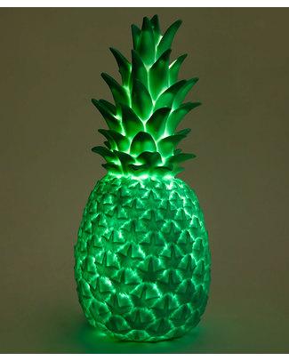 Goodnight Light Lampada Pina Colada - Ananas Verde Tropicale - Basso Consumo Energetico! Lampade Comodino