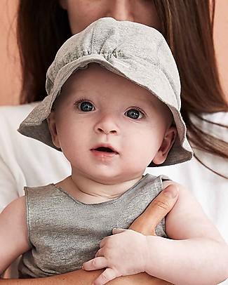 Gray Label Cappellino Estivo Baby, Grigio Melange - Cotone bio Cappelli Estivi