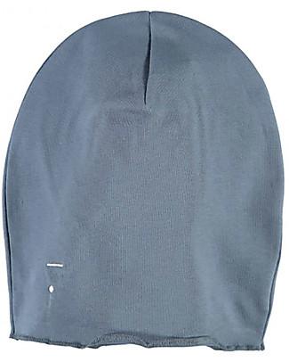 Gray Label Cappellino Overize, Denim - 100% cotone bio morbidissimo Cappelli