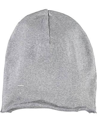 Gray Label Cappellino Oversize, Grigio Melange - 100% cotone bio morbidissimo   Cappelli