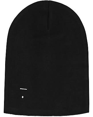 Gray Label Cappellino Oversize, Nero - 100% cotone bio morbidissimo Cappelli