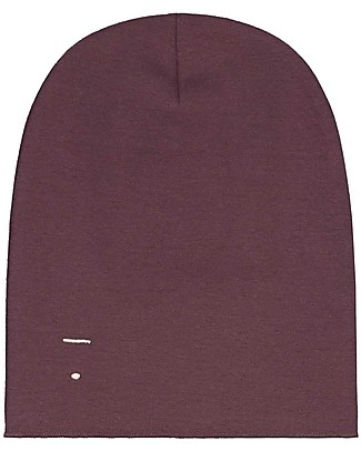 Gray Label Cappellino Oversize, Prugna - 100% cotone bio morbidissimo Cappelli