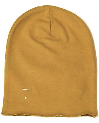 Gray Label Cappellino Oversize, Senape - 100% cotone bio morbidissimo Cappelli