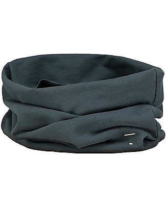 Gray Label Endless Scarf, Blue Grey - 100% organic cotton Italian fleece Scarves And Shawls