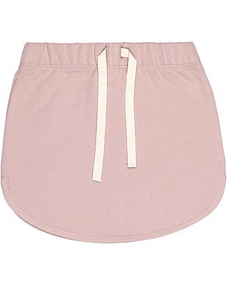 Gray Label Gonna Felpata, Vintage Pink – 100% Felpa di Cotone Bio Italiano Gonne