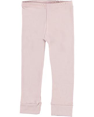 Gray Label Leggings, Vintage Pink - Cotone Bio Morbidissimo Leggings