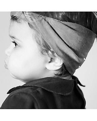 Gray Label Mini Fascia per Capelli Bimba (1-4 anni), Pop - 100% cotone bio Fermacappelli