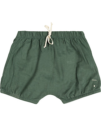 Gray Label Pantalone a Palloncino Bloomer, Salvia - 100% jersey di cotone bio Pantaloni Corti
